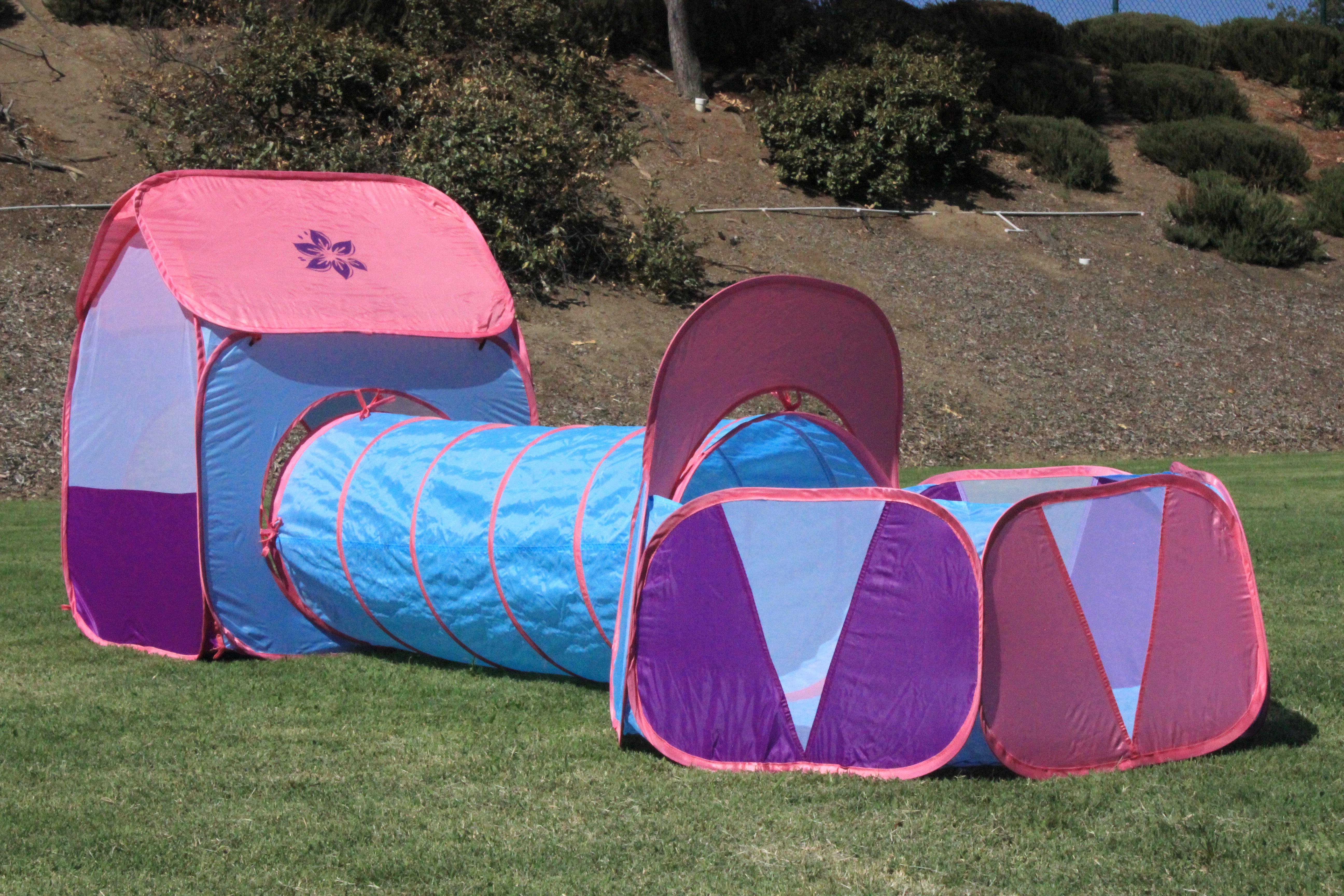 96-KE12-6FBV Ball Pit Pop-Up Play Tent - (Pink & Ball Pit Pop-Up Play Tent - (Pink Purple Blue) | G3Elite ...