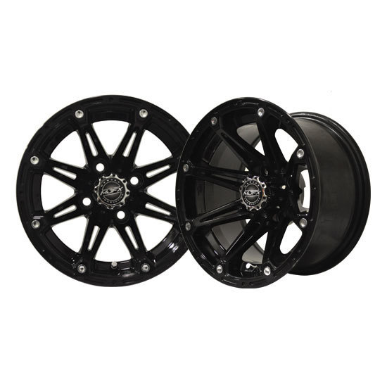 ELEMENT 12x7 Black Wheel