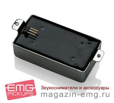 EMG 57 (потертый черный хром), вид сзади