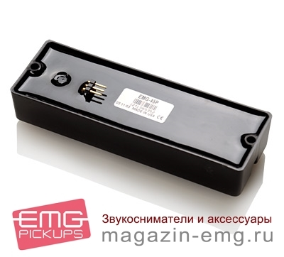 EMG 45DC, вид сзади