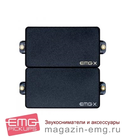 EMG 85X/60AX Set (Red HOT Alnico)