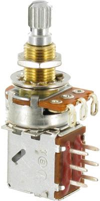 EMG POT PP (потенциометр тона-громкости PushPull) под пайку