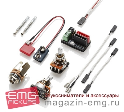 EMG 57 (потертый хром), комплектация