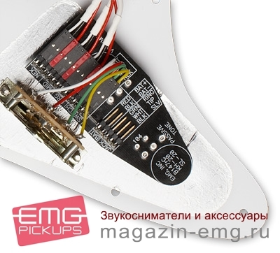 EMG SL20 Стив Люкатер, панель