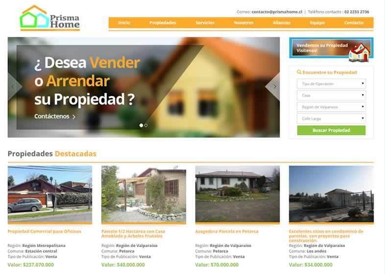 Sitio Web Gestion de Propiedades
