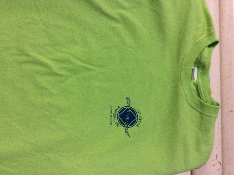 (MED) 36th Lime Tee short sleeve
