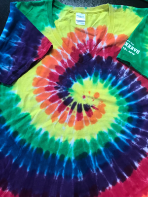 Men's Long Sleeve Normal Tie Dye Tee Shirt 3x 37th