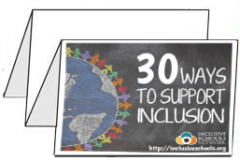 30 Ways to Support Inclusion Foldable Brochures (Bundle of 25) 00001