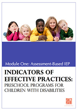 Preschool Programs for Children with Disabilities: Module 1 Assessment-Based IEP 00018