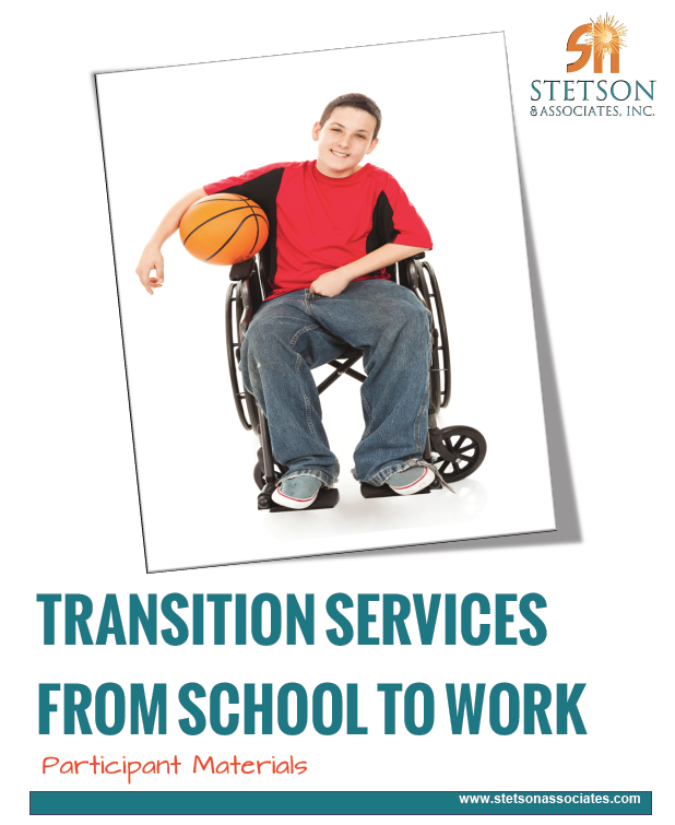 Transition Services from School to Work: Understanding the Transition Planning Process 00030