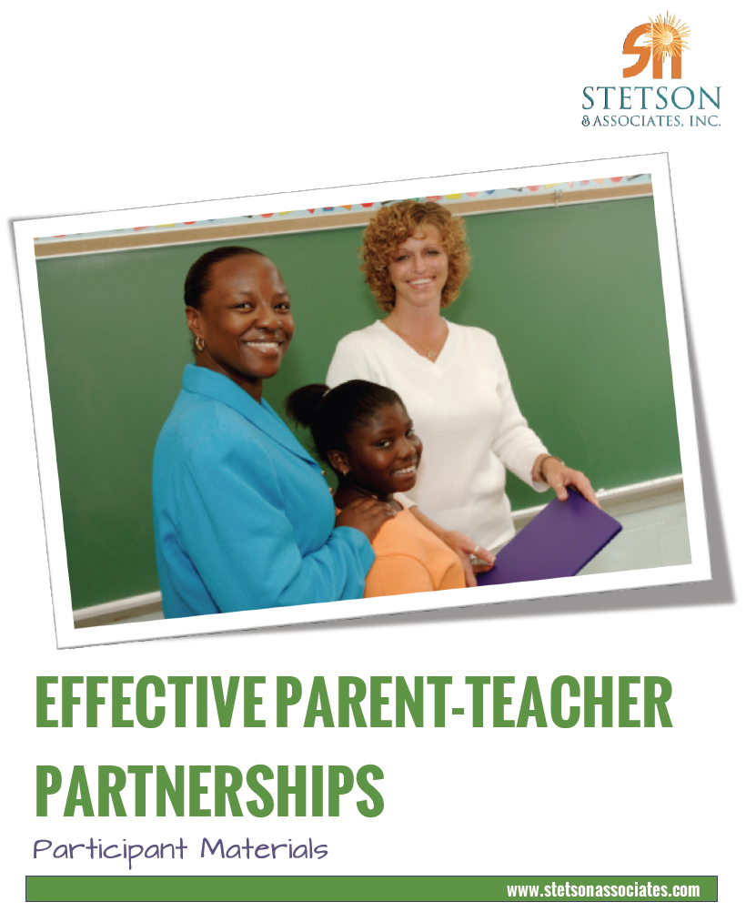Effective Parent-Teacher Partnerships 00031