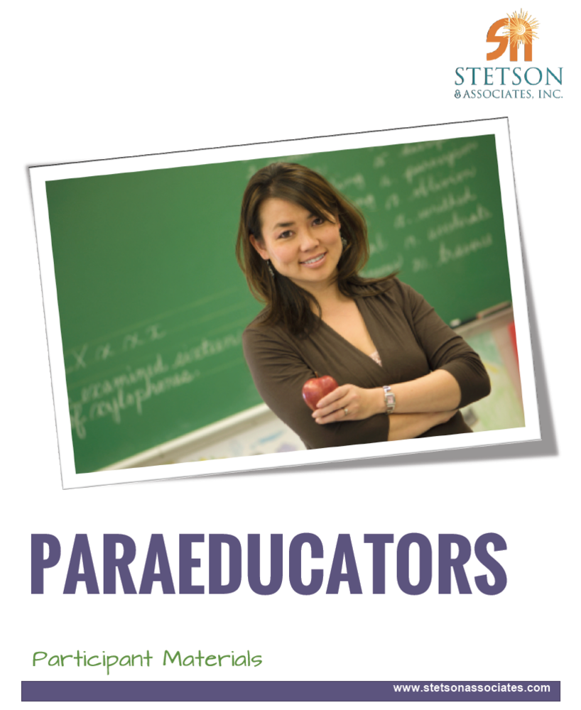 define paraeducator