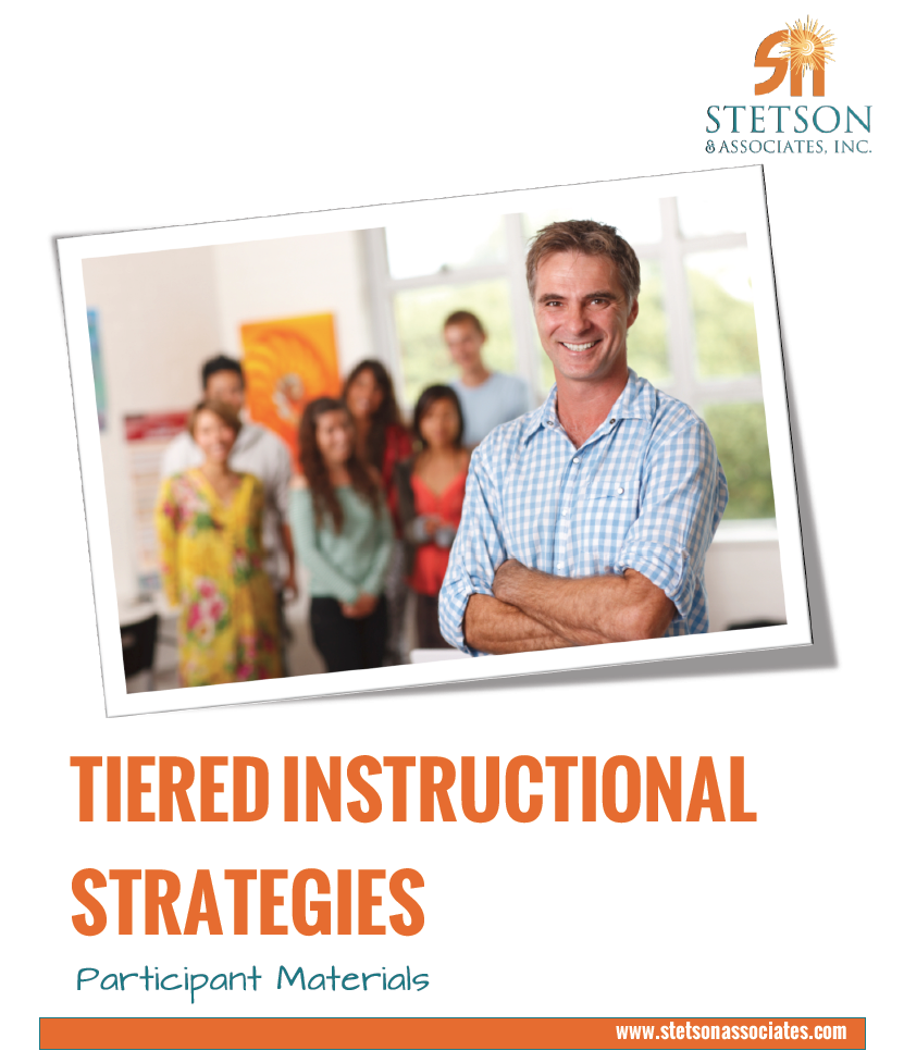 Tiered Instruction Strategies Training Module 00034