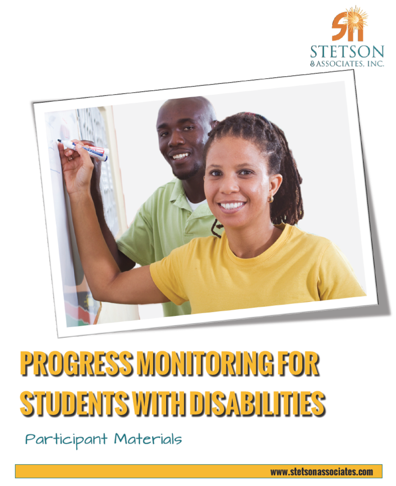 Progress Monitoring for Students with Disabilities 00037