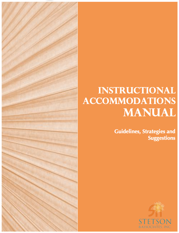 Instructional Accommodations Manual (Digital) 00044