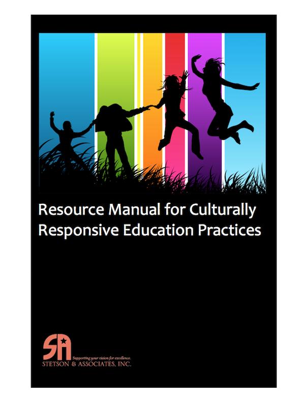 Culturally Responsive Education Resource Manual (Digital Download) 00045