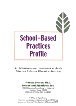 School-Based Practices Profile