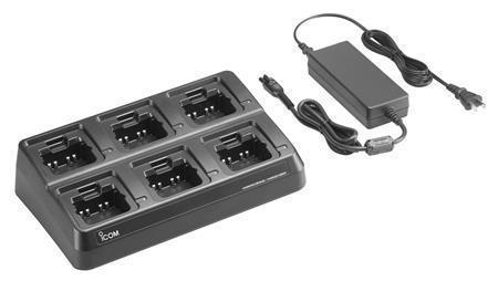 Icom BC214 6-unit charger for F1000 F2000 radios 74