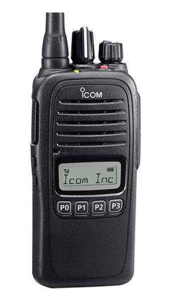 Icom F2000S 23 UHF portable radio with a display 578