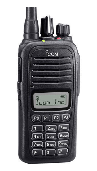 Icom F2000T 09 UHF portable radio with display, keypad 581