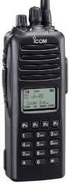 Icom F70DT14 VHF P25 handheld, full keypad 254