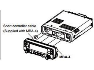 Icom MBA4 mounting bracket for IC-2730A 438