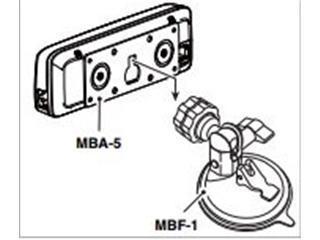 Icom MBF1 remote head mount IC-7100, IC-718 HF mobiles 440