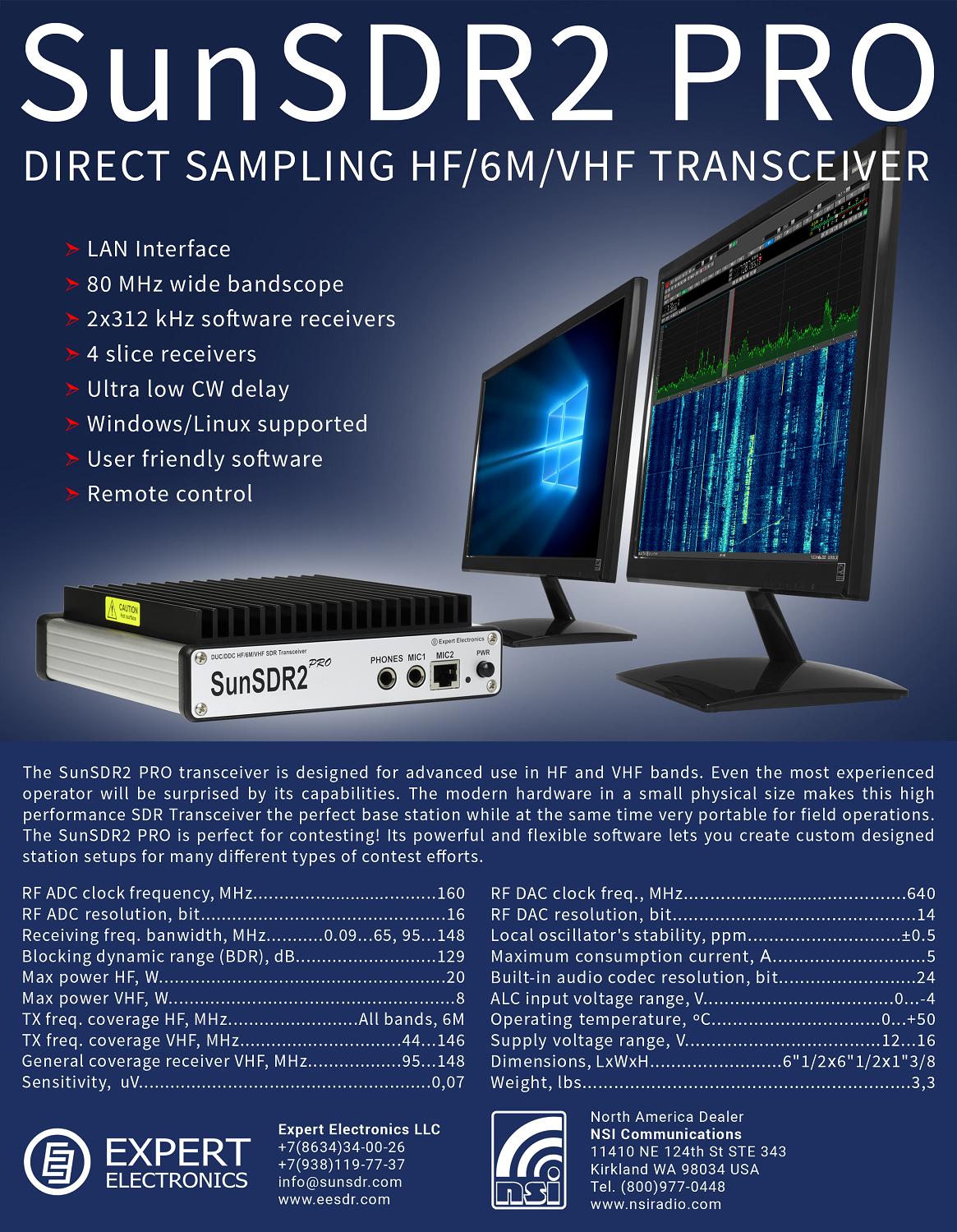 Brochu SunSDR2-Pro