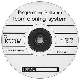 Icom CS-F100 programming software for F121/F221 mobile 133