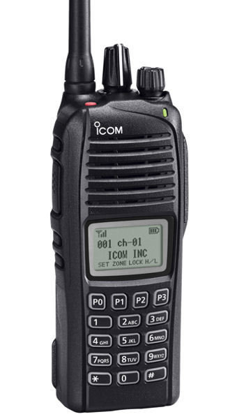 Icom F3261DT 34 RR VHF handheld 196