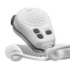 Icom HM-196SW white color mic for M424 368