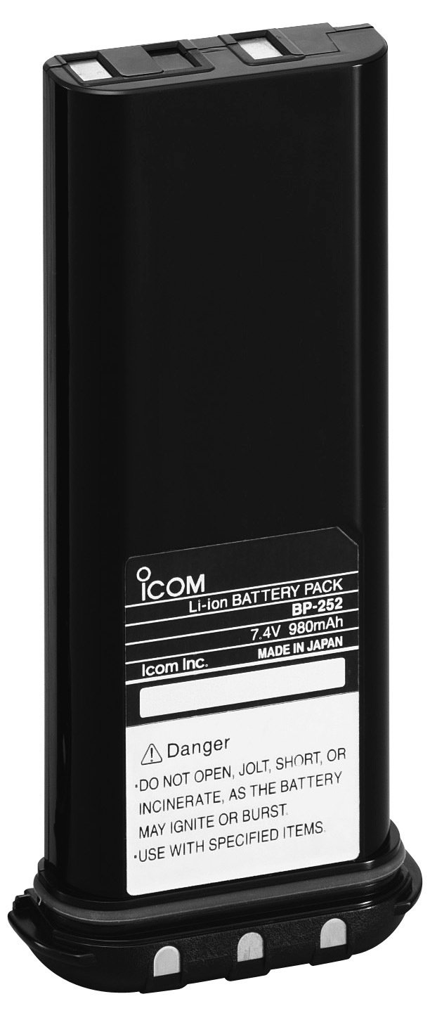 Icom BP252 battery for IC-M34 and IC-M36 marine radios 99