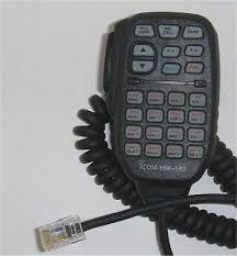 Icom HM-133 microphone 323