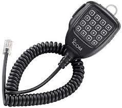 Icom HM152T DTMF microphone F6011 F6021 F6061 335