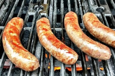Beef bratwurst - 1 lb