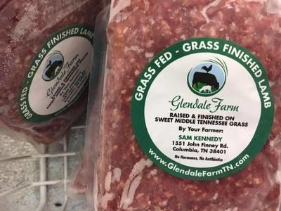 Ground Lamb - 1 lb