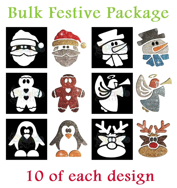 Bulk Festive Stencil Package