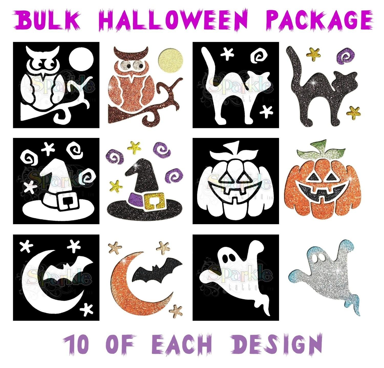 Bulk Halloween Stencil Package