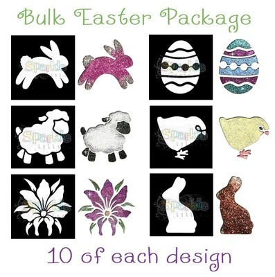 NEW - Bulk Easter Stencil Package
