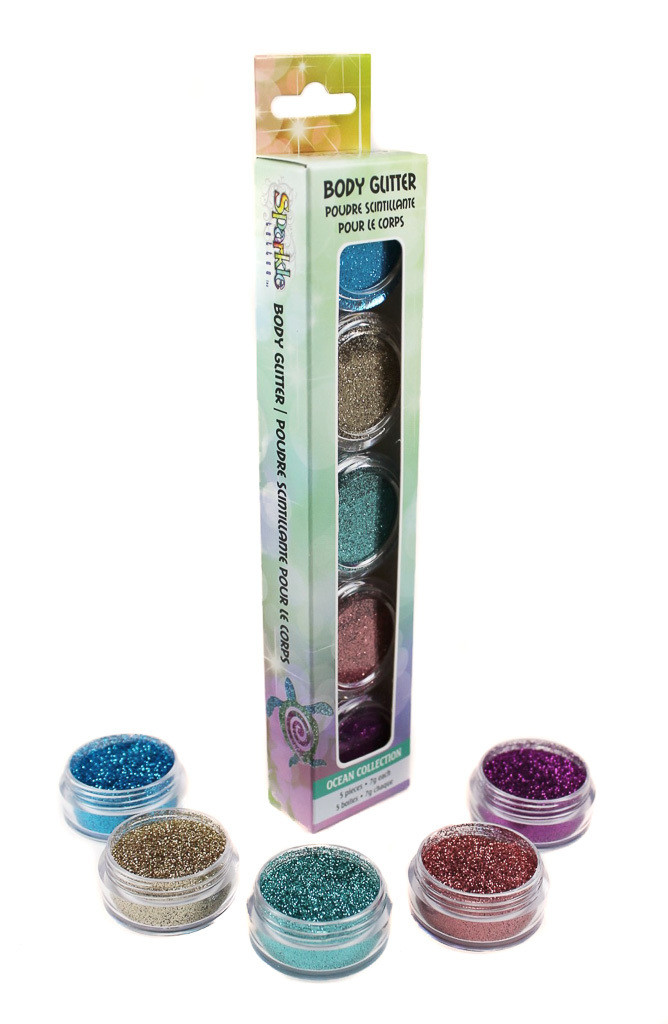 Ocean Glitter Collection
