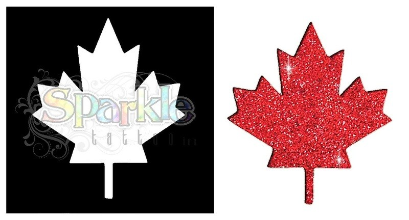 Large Maple Leaf Stencil