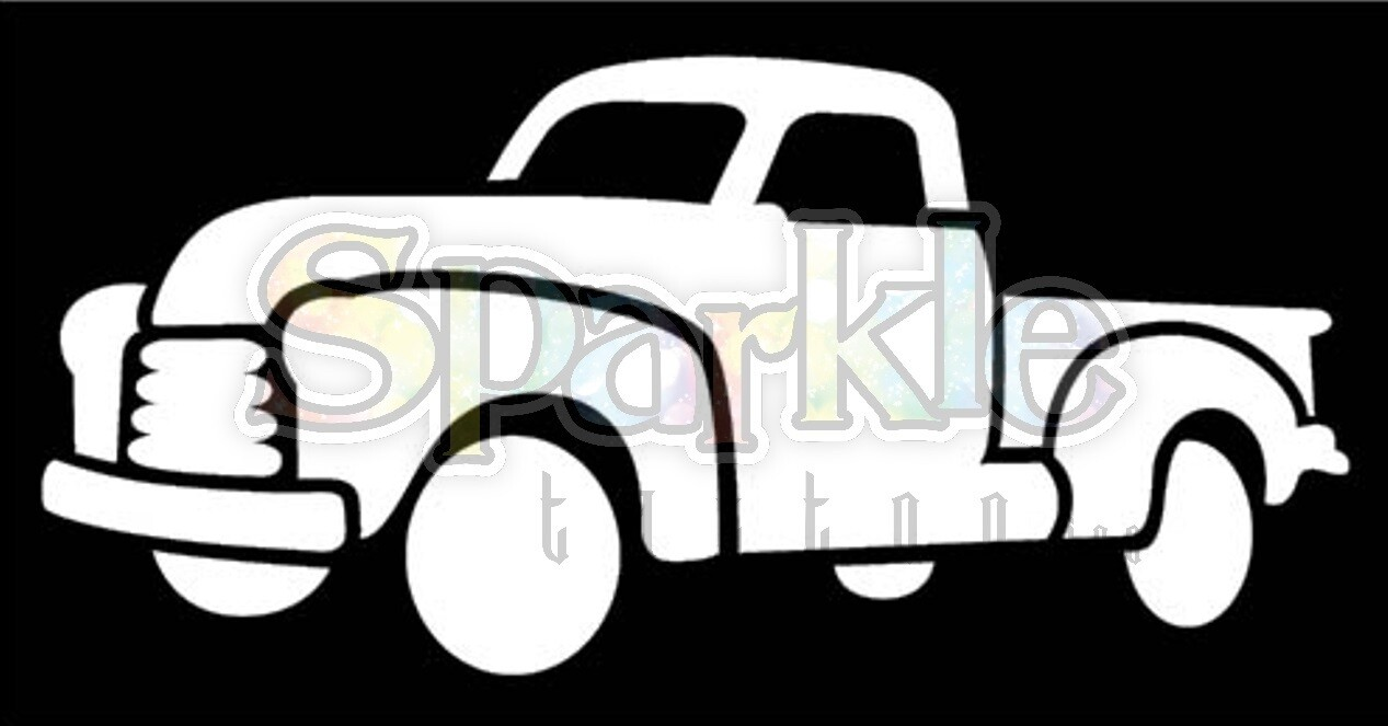 Antique Truck Stencil