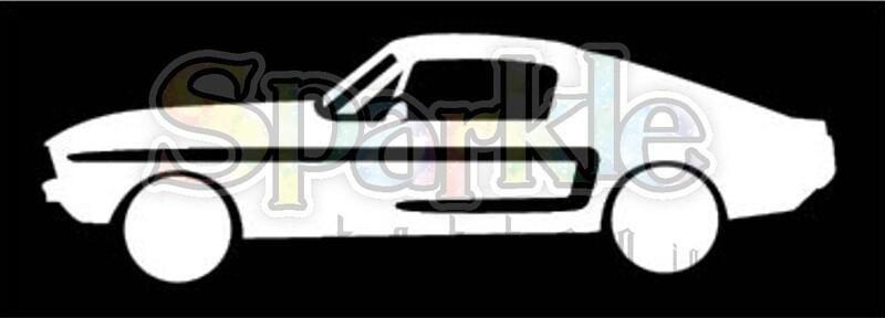 Muscle Car Stencil