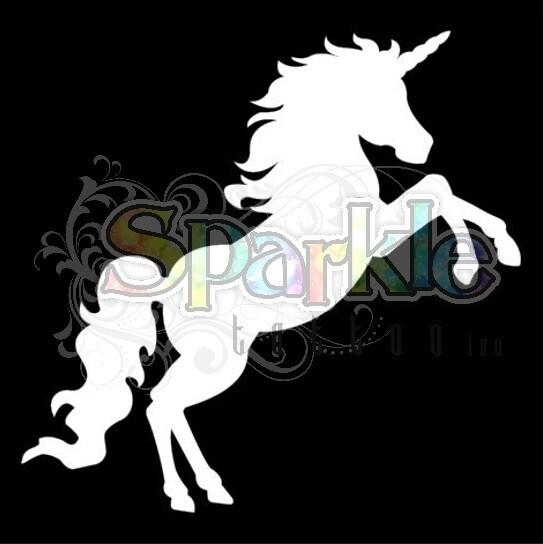 Large Full Unicorn Stencil