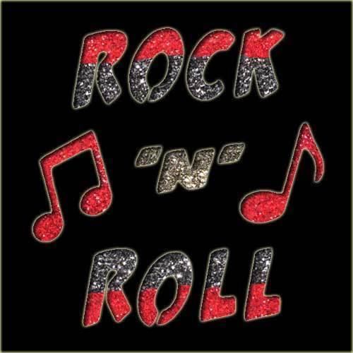 Rock 'n' Roll Stencil