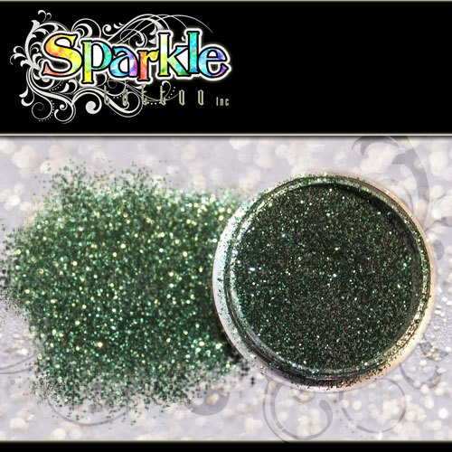 Hunter Green Glitter