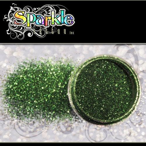 Moss Green Glitter