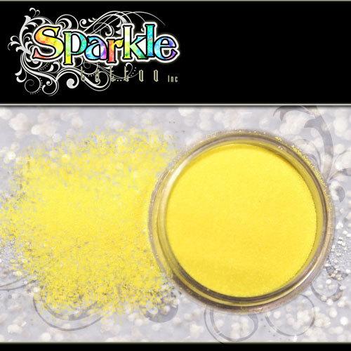 Neon Yellow Glitter