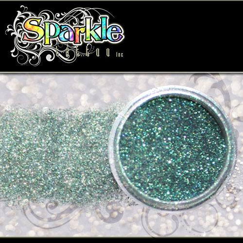 Cosmic Green Glitter