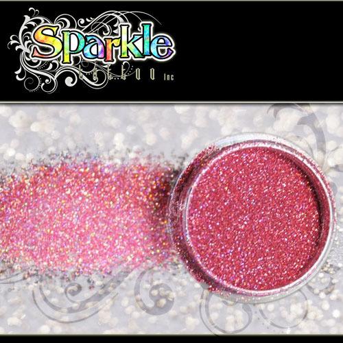 Laser Pink Glitter